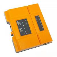 TL-648 кабельный тестер витой пары + USB, для тестирования USB разъёмов и RJ45 витой пары
