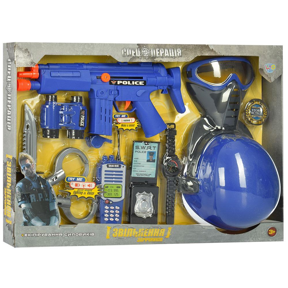 """Игровой полицейский набор """"Освобождение заложников"""" Limo Toy 33710-33730"""