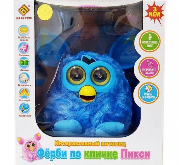 """Интерактиная мягкая игрушка """"Ферби по кличке Пикси"""" (JD-4888), Голубой"""