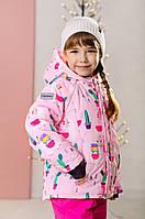 Детская зимняя куртка для девочки 92, 98, 104, 110, 116, 122, фото 1