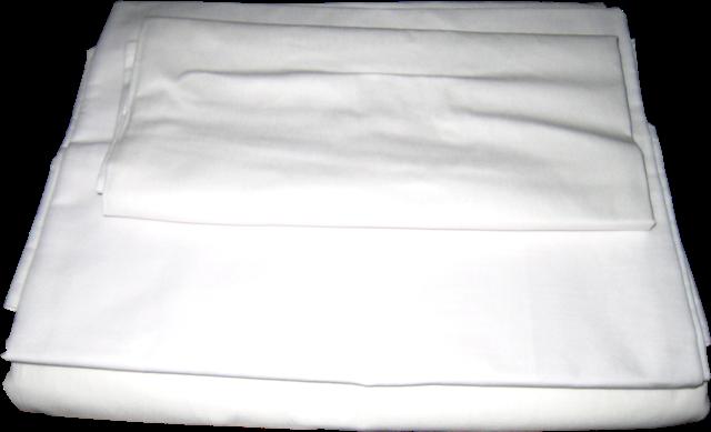 Простынь бязь белая 145х210 см