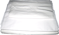 Пододеяльник детский бязь белая 100х140 см