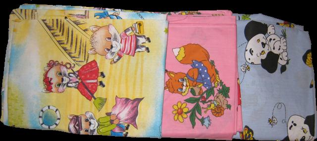 Комплект постельный детский в ассортименте 100х145 см