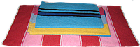 Полотенце махровое  (цвета в ассортименте) 40х70 см