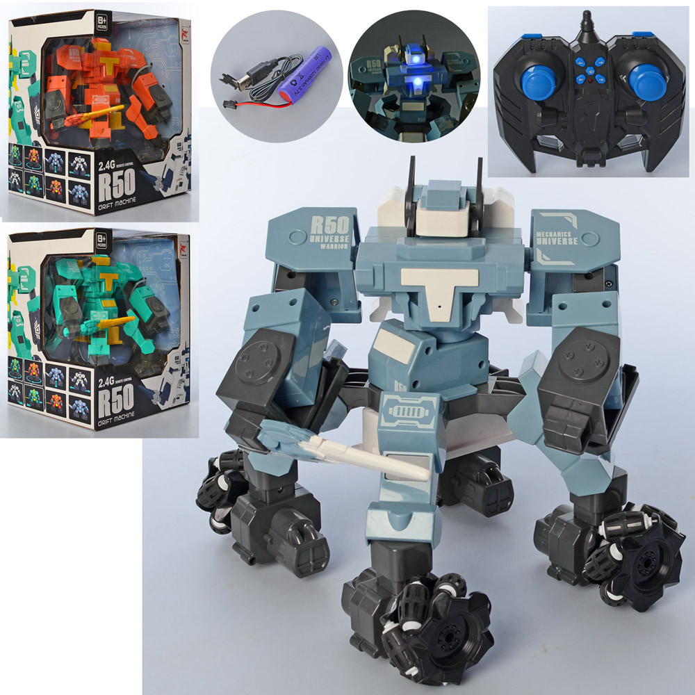 Радиоуправляемый робот воин (FN099), 3 расцветки