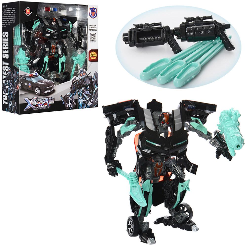 Игрушечный робот трансформер (8820A), 23 см