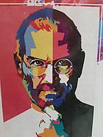Картина  по номерам на холсте Cтив Джобс