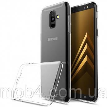 Прозорий силіконовий чохол для Samsung Galaxy (Самсунг Гелексі) J8 2018