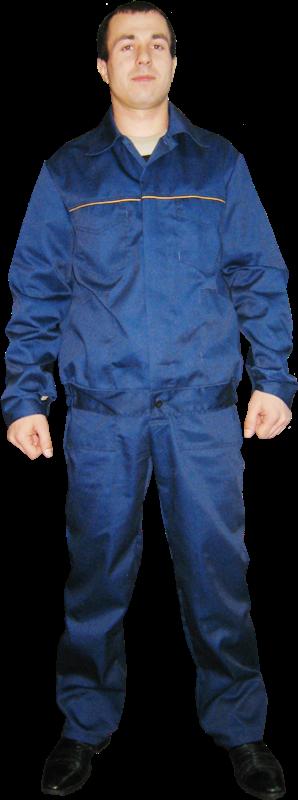 Костюм рабочий модельный тк. саржа синий