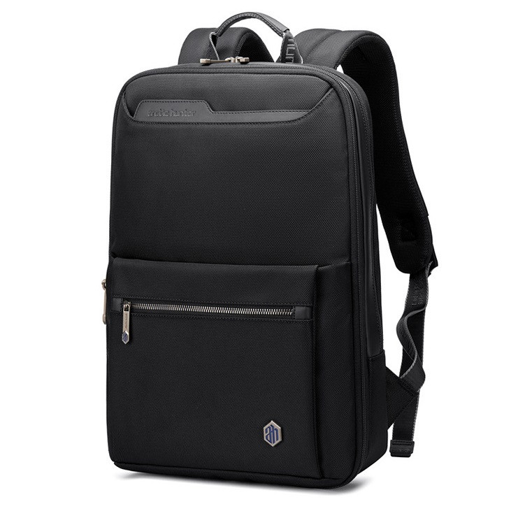 Ультратонкий роскошный рюкзак Arctic Hunter B00410, с карманом для ноутбука, планшета, расширителем 7см, 22л