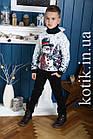 Свитер подростковый Pulltonic Лесной Снеговик, фото 2