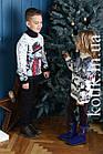 Свитер подростковый Pulltonic Лесной Снеговик, фото 3