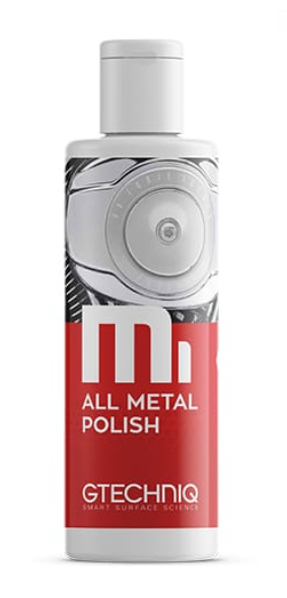 GTechniq M1 All Metal Polish очиститель хрома и алюминия