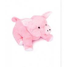 Мягкая игрушка. Свинка плюшевая. Плюшевая хрюшка 43см. Свинка розовая в подарок. Подарок. Мягкий подарок.