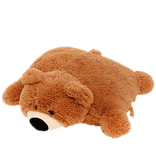 Подушка мишка. Мишка коричневый 45см. Игрушка подушка. Игрушка Мишка. Подушки мишки коричневые.