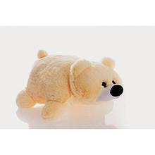 Подушка игрушка мишка персиковый 45см. Игрушка подушка. Игрушка Мишка персиковый. Подушки мишки.