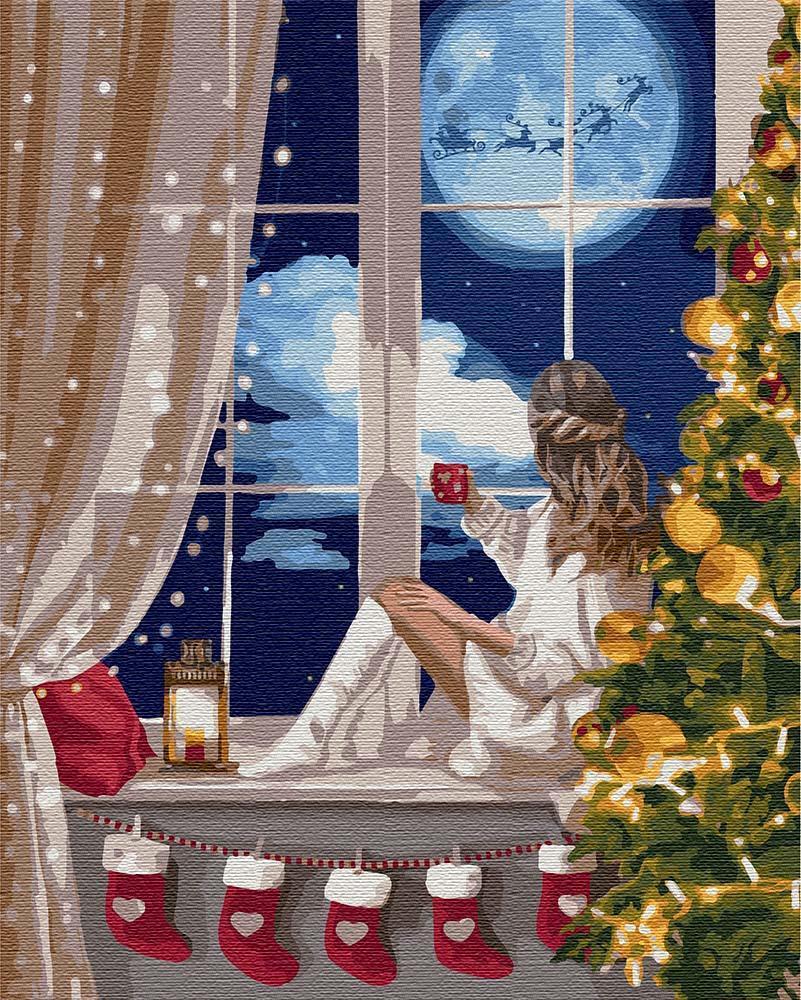 Картина по номерам Новогоднее чудо