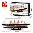 Конструктор SLUBAN M38-B0835 Титаник, 2 фигурки, 481 деталь Т, фото 2
