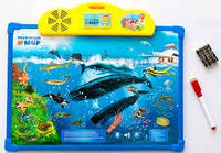 SALE! Двусторонняя интерактивная доска «Подводный Мир» (7281)