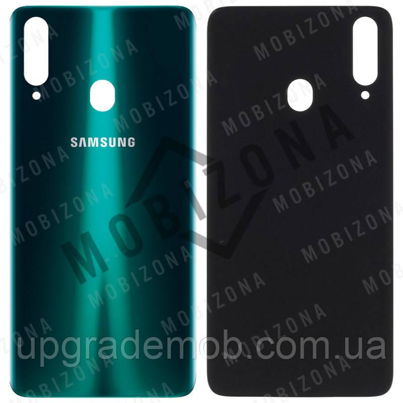 Задняя крышка Samsung A207F Galaxy A20s 2019, зеленая, оригинал