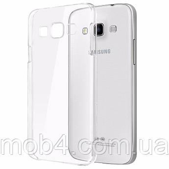 Силиконовый прозрачный чехол для Samsung Galaxy (Самсунг Гелекси) A3