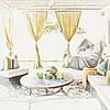 Оформление текстилем террас и беседок, фото 4