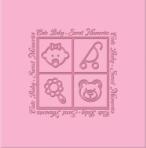 Фотоальбом CHAKO 10*15/200 PC-46200RCK Cute Baby Blue