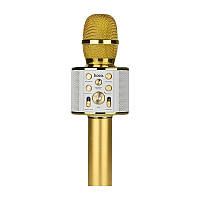 Bluetooth мікрофон караоке K-51 золото