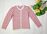 Детский вязаный жакет на пуговицах для девочки ТМ Дайс, фото 1