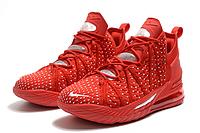 Баскетбольные кроссовки Nike Lebron 18 Red Реплика, фото 1
