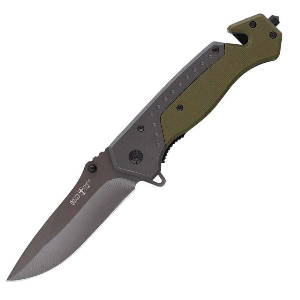 Нож складной с арнаментом