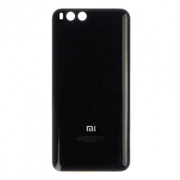 Задняя панель корпуса (Крышка) для Xiaomi Mi6 (Черная) Оригинал Китай