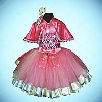 Новогодняя Фея в розовом.Принцесса. Рост 140-146 см. Детские Новогодние карнавальные костюмы