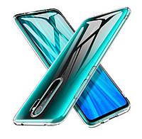 Чехол на Xiaomi Redmi 9 Прозрачный (Силиконовый)