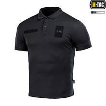 Поло M-Tac Elite Tactical Coolmax Black Size S