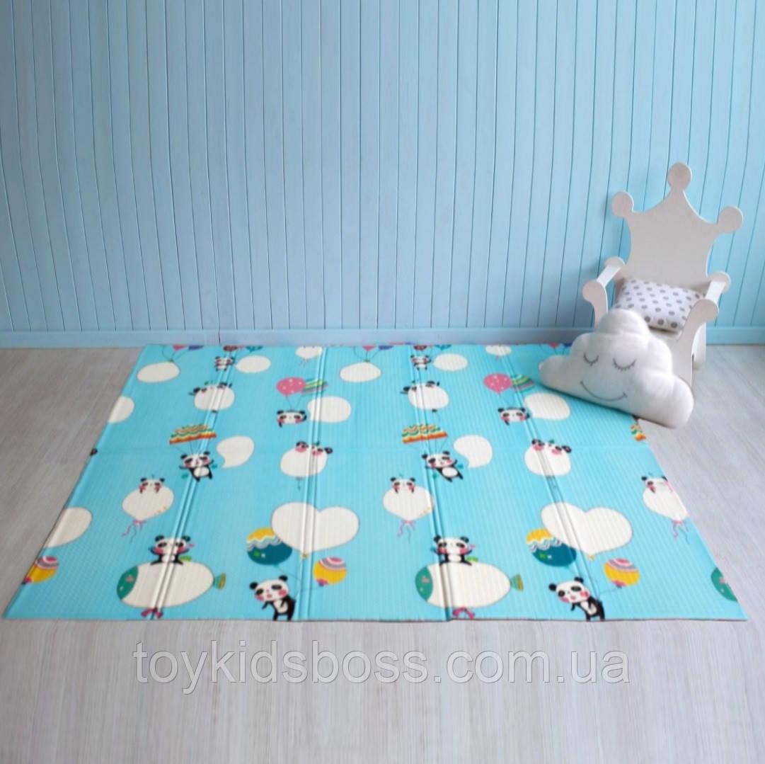 """Дитячий розвиваючий килимок термо """"Панда"""" 800 х 1800 х 10 мм"""