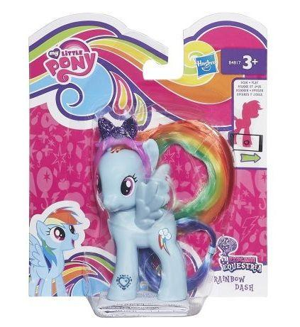 Базовая фигурка My Little Pony Радуга Дэш HASBRO B4817/astB3599 - фото 1