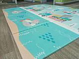 """Розвиваючий килимок дитячий термо """"Подорож+ Поляна"""" 180*200*10 мм, фото 5"""