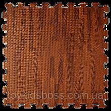 Напольное покрытие 60*60*1CM  OS-BCM PX03 дерево темное