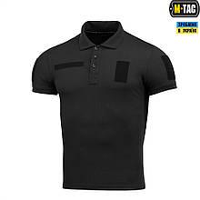 Поло Тактичне M-Tac Polyester Black Size M