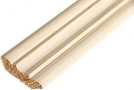 Плінтус дерев'яний для стелі 45мм кут
