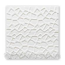 Самоклеющаяся декоративная потолочная 3D панель паутина 700x700x5мм