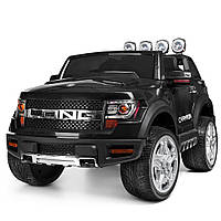 Детский электромобиль Ford (2 мотора по30W, MP3, USB) Джип Bambi M 3579EBLR-2 Черный