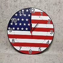 Часы настенные Флаг США