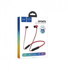 Bluetooth наушники Hoco ES29 Graceful sports Red, фото 2