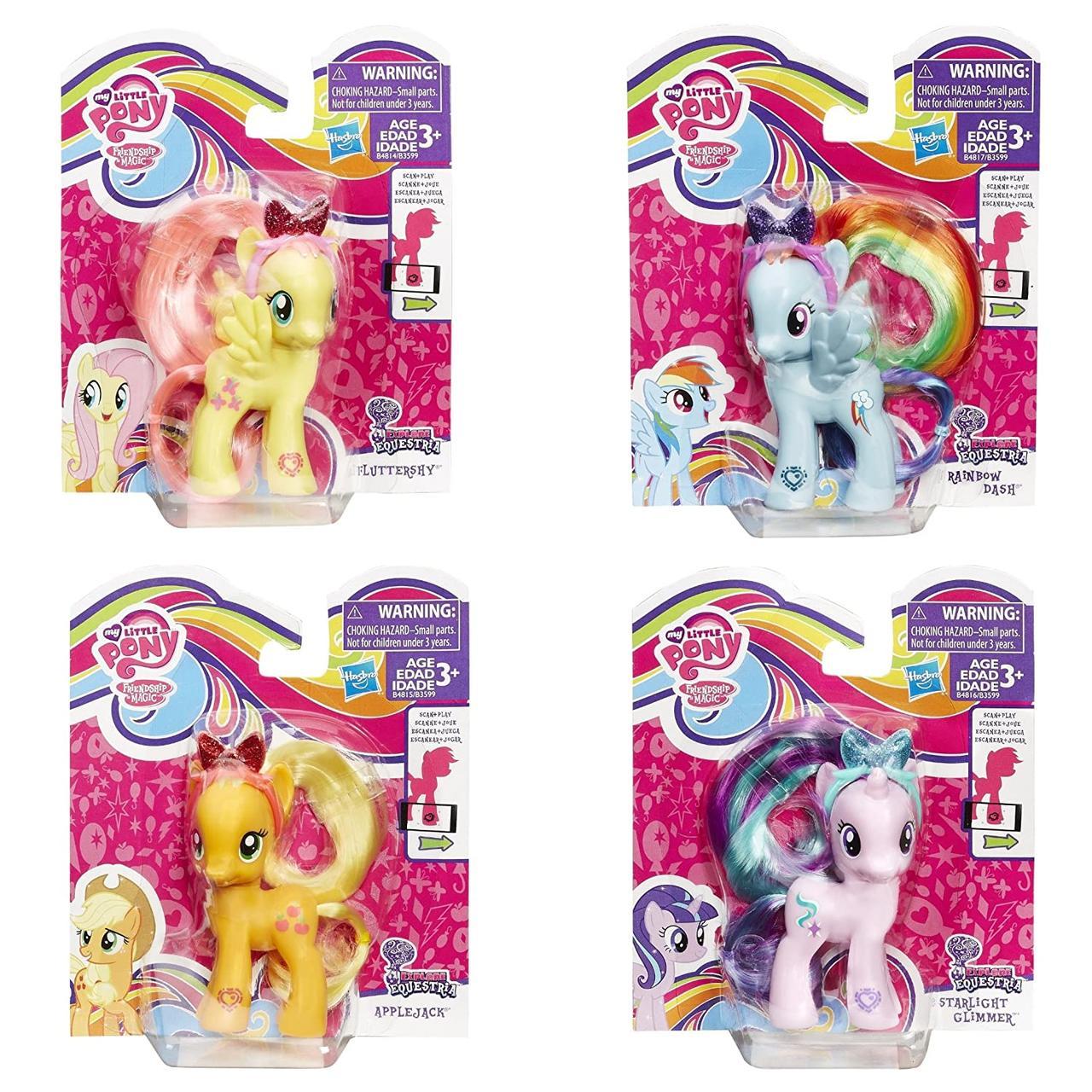 Базовая фигурка My Little Pony Радуга Дэш HASBRO B4817/astB3599 - фото 5