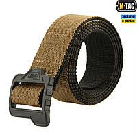 Ремінь M-TAC двосторонній Lite Tactical Belt Coyote/Black Size M