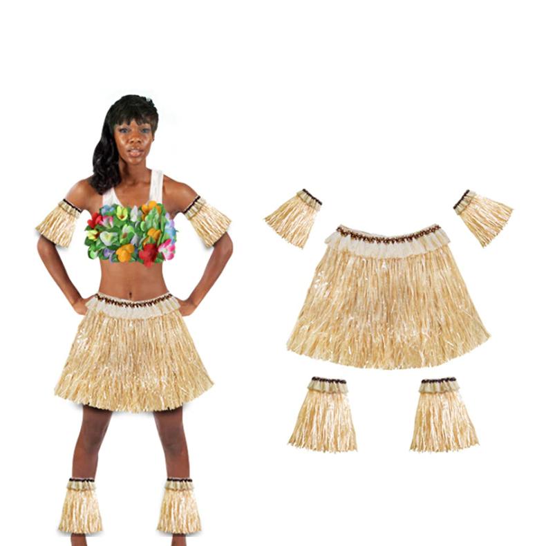 Карнавальный костюм Аборигена (гавайский светлый) 40см