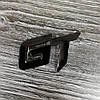 3D эмблема GT на решетку - черная