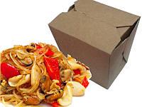 Упаковка Лапша Бокс, коробка для китайской лапши 300 мл
